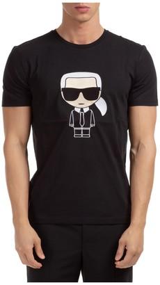 Karl Lagerfeld Paris K/Ikonik Printed T-Shirt