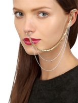 Maria Francesca Pepe 'never Is A Promise' Piercing - Ear Cuff
