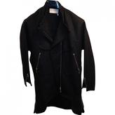 Saint Laurent Grey Wool Coat