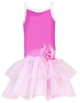 Rare Editions toddler tiered tutu dress