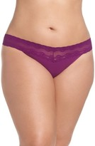 Natori Plus Size Women's Bliss Perfection Thong