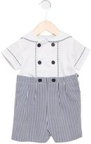 Florence Eiseman Boys' Striped Short Sleeve All-In-One