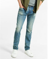 Express slim leg slim fit performance stretch jean