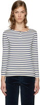 A.P.C. Navy Veronica T-shirt