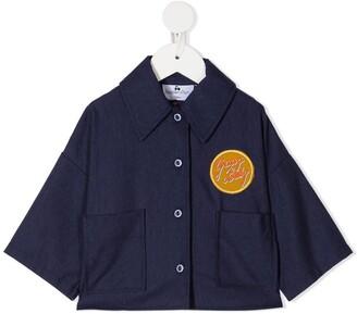 Raspberry Plum Bobby button-up shirt