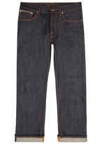 Nudie Jeans Loose Leif Indigo Raw Selvedge Jeans