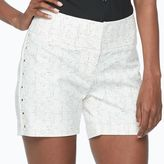 Apt. 9 Women's Embellished White Shorts
