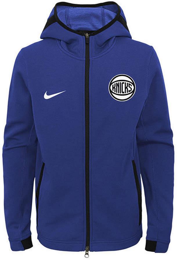 Nike New York Knicks Showtime Hooded Jacket, Big Boys (8-20)