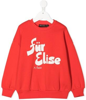 Mini Rodini Fur Elise sweatshirt