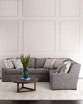Massoud Bridget Left-Arm Sectional Sofa