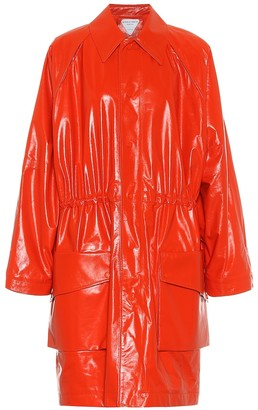 Bottega Veneta Leather coat