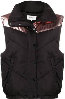 BA&SH Marty quilted gilet