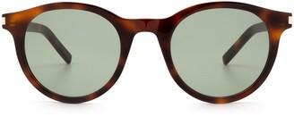 Saint Laurent Sl 342 Havana Sunglasses