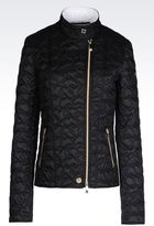 Armani Jeans Down Jacket In Nylon