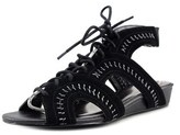 Very Volatile Rapport Open Toe Synthetic Wedge Sandal.
