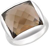 Ice.com 14 Carat Smoky Quartz Sterling Silver Ring