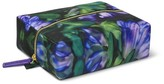Sonia Kashuk Cosmetic Bag Stand & Stow Purple Floral
