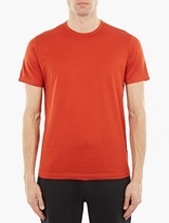 Sunspel Red Cotton T-shirt