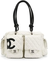 Chanel Pre Owned 2000's CC quilted bag