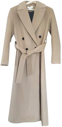 MANGO Camel Wool Coats