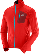 Salomon Matador Red & Brique Equipe Softshell Jacket - Men
