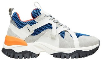 Selected GREY BLUE AMY TRAIL TRAINER - 36