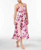 Oscar de la Renta Ruffle-Trimmed High-Low Nightgown