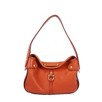 Salvatore Ferragamo Orange Leather Handbags