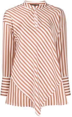 Steffen Schraut Striped Poplin Shirt