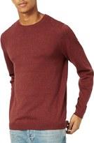 Topman Men's Marled Crewneck Sweater