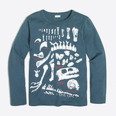 J.Crew Factory Boys' long-sleeve glow-in-the-dark paleontologist storybook T-shirt
