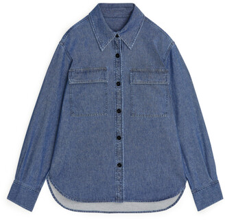Arket Organic Cotton Denim Overshirt