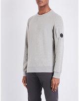 Cp Company Lens-detail Cotton-jersey Sweatshirt