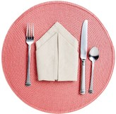 Now Designs Round Placemat - Woven Vinyl