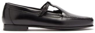 Hereu Alcala Leather Loafers - Womens - Black
