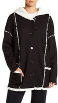 PJ Salvage Hooded Plush Sweatshirt