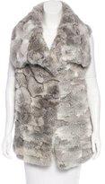 Jocelyn Patchwork Fur Vest w/ Tags