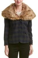 Gant Luxe Wool-blend Blazer.