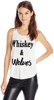 MinkPink Women's Whiskey and Wolves Top