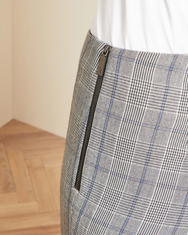 Thumbnail for your product : Ted Baker Skinny Checked Trousers