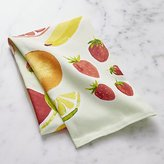 Crate & Barrel Fresh Fruit Dish Towel
