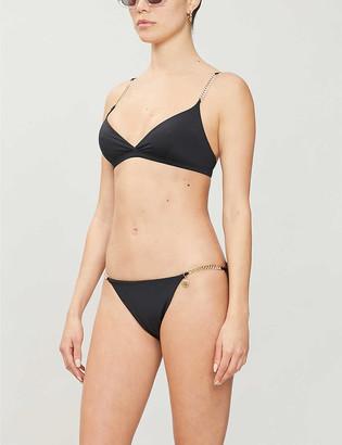 Stella McCartney Falabella V-neck bikini top