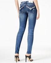 Miss Me Embellished Medium Blue Wash Bootcut Jeans