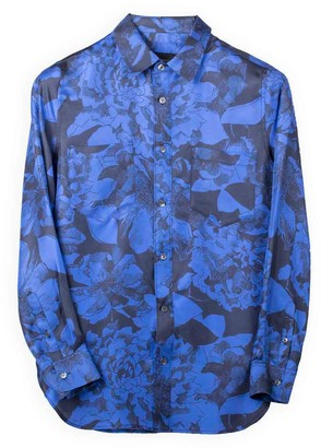 Bananatime Easy Shirt Youth Bloom Blue