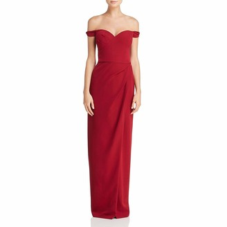 JS Collections Women's Off Shoulder Sweetheart Gown