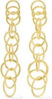 Buccellati Hawaii Honolulu 18-karat Gold Earrings