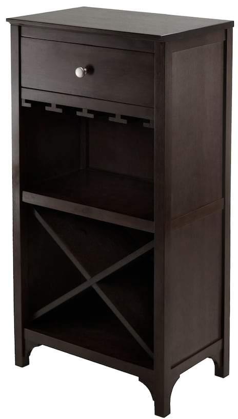 Winsome 20-Bottle Ancona Modular Wine Cabinet