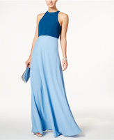 Jill Stuart Colorblocked Popover Gown