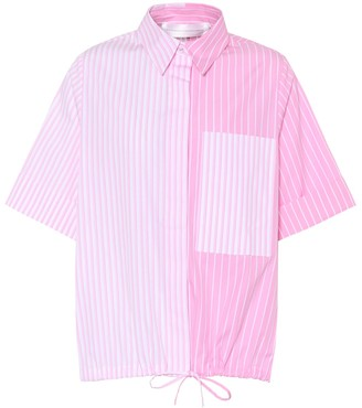 Victoria Victoria Beckham Striped cotton top