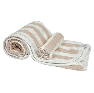 House Of Jude Hooded Turkish Towel and Wash Cloth Bundle - Fawn